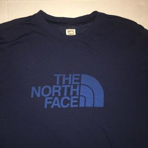 The North Face Shirts - The North Face Graphic T-Shirt - Blue - Mens -  M